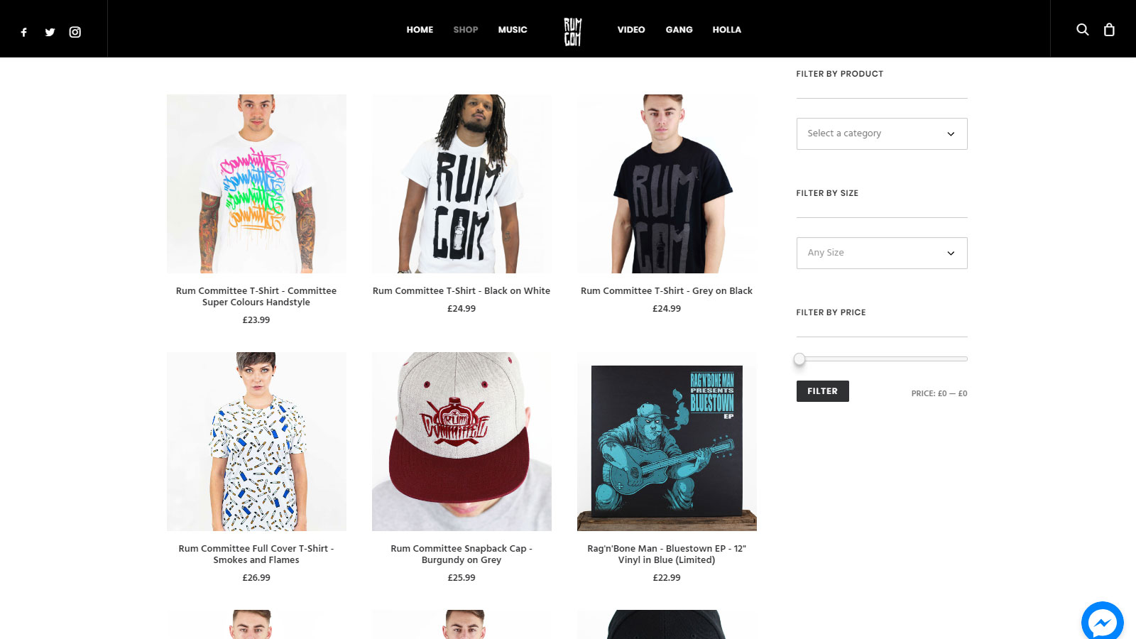 Online Shop Website Design